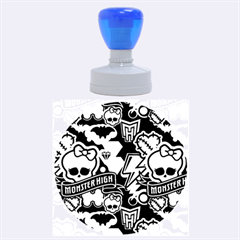 Monster High 03 Rubber Round Stamps (large)
