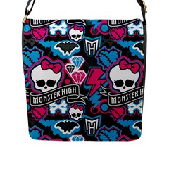 Monster High 03 Flap Messenger Bag (l)  by AnjaniArt