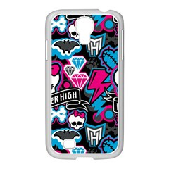 Monster High 03 Samsung Galaxy S4 I9500/ I9505 Case (white)