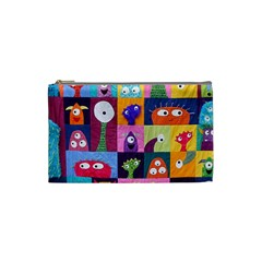 Monster Quilt Cosmetic Bag (small)