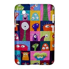 Monster Quilt Samsung Galaxy Tab 2 (7 ) P3100 Hardshell Case  by AnjaniArt