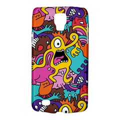Monsters Pattern Galaxy S4 Active by AnjaniArt