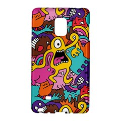 Monsters Pattern Galaxy Note Edge by AnjaniArt