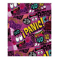 Panic Pattern Shower Curtain 60  X 72  (medium)  by AnjaniArt