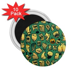 Pattern Linnch 2 25  Magnets (10 Pack)