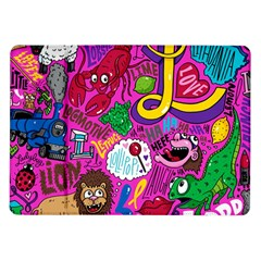 Pattern Monsters Samsung Galaxy Tab 10 1  P7500 Flip Case