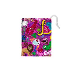 Pattern Monsters Drawstring Pouches (xs)