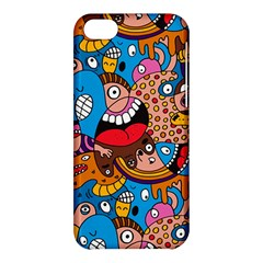 People Face Fun Cartoons Apple Iphone 5c Hardshell Case