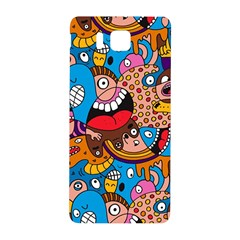 People Face Fun Cartoons Samsung Galaxy Alpha Hardshell Back Case