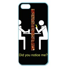 Pict Man Apple Seamless Iphone 5 Case (color) by AnjaniArt