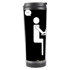 Pict Man Travel Tumbler by AnjaniArt