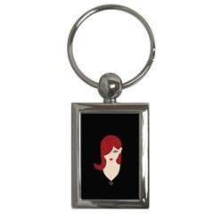 Picture Female Key Chains (rectangle)  by AnjaniArt