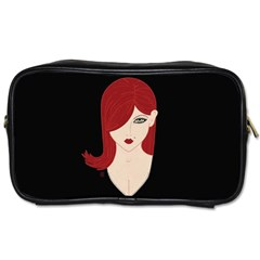 Picture Female Toiletries Bags 2 Side by AnjaniArt