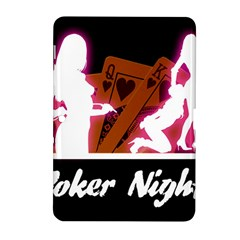 Poker Night Samsung Galaxy Tab 2 (10 1 ) P5100 Hardshell Case  by AnjaniArt