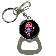 Red Cartoons Face Fun Bottle Opener Key Chains
