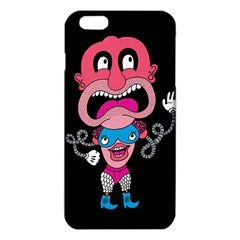 Red Cartoons Face Fun Iphone 6 Plus/6s Plus Tpu Case by AnjaniArt