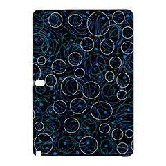 Blue Abstract Decor Samsung Galaxy Tab Pro 10 1 Hardshell Case