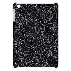 Black And White Magic Apple Ipad Mini Hardshell Case by Valentinaart