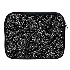 Black And White Magic Apple Ipad 2/3/4 Zipper Cases by Valentinaart