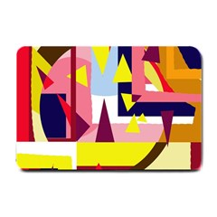 Colorful Abstraction Small Doormat