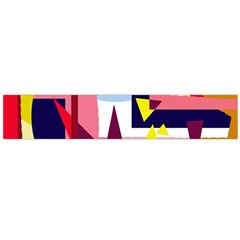 Colorful Abstraction Flano Scarf (large)