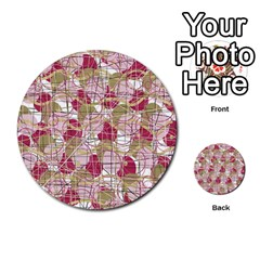 Decor Multi Purpose Cards (round)  by Valentinaart