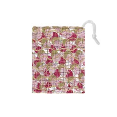 Decor Drawstring Pouches (small)  by Valentinaart