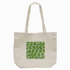 Gray Decorative Abstraction Tote Bag (cream) by Valentinaart