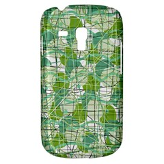 Gray Decorative Abstraction Samsung Galaxy S3 Mini I8190 Hardshell Case by Valentinaart