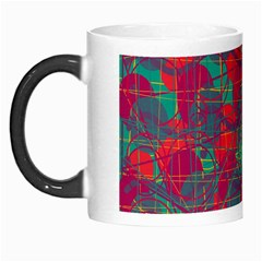 Decorative Abstract Art Morph Mugs by Valentinaart