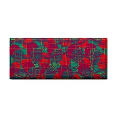 Decorative Abstract Art Hand Towel by Valentinaart