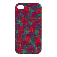 Decorative Abstract Art Apple Iphone 4/4s Hardshell Case