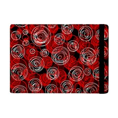 Red Abstract Decor Ipad Mini 2 Flip Cases