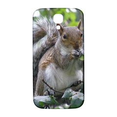 Gray Squirrel Eating Sycamore Seed Samsung Galaxy S4 I9500/i9505  Hardshell Back Case by GiftsbyNature