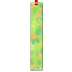 Green Decorative Art Large Book Marks by Valentinaart
