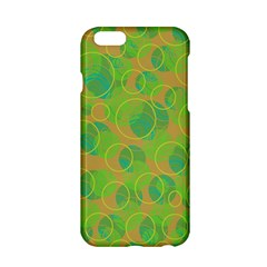 Green Decorative Art Apple Iphone 6/6s Hardshell Case by Valentinaart