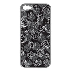 Gray Abstract Art Apple Iphone 5 Case (silver)