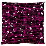 Magenta abstract art Standard Flano Cushion Case (One Side) Front