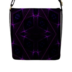 Universe Star Flap Messenger Bag (l)  by MRTACPANS