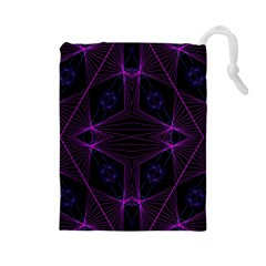 Universe Star Drawstring Pouches (large)  by MRTACPANS
