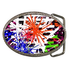 Colorful Big Bang Belt Buckles by Valentinaart