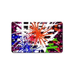 Colorful Big Bang Magnet (name Card) by Valentinaart