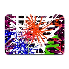 Colorful Big Bang Plate Mats by Valentinaart