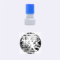 Colorful Big Bang Rubber Round Stamps (small)