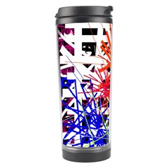 Colorful Big Bang Travel Tumbler by Valentinaart