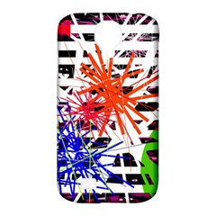 Colorful Big Bang Samsung Galaxy S4 Classic Hardshell Case (pc+silicone) by Valentinaart