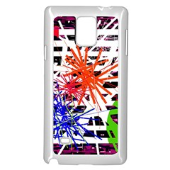 Colorful Big Bang Samsung Galaxy Note 4 Case (white) by Valentinaart