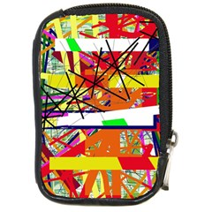 Colorful Abstraction By Moma Compact Camera Cases by Valentinaart