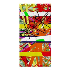 Colorful Abstraction By Moma Shower Curtain 36  X 72  (stall)  by Valentinaart