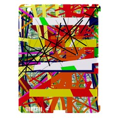Colorful Abstraction By Moma Apple Ipad 3/4 Hardshell Case (compatible With Smart Cover) by Valentinaart